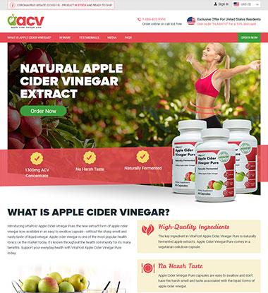 Apple Cider Vinegar Pure Logo