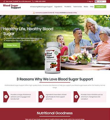 Blood Sugar Support Logo