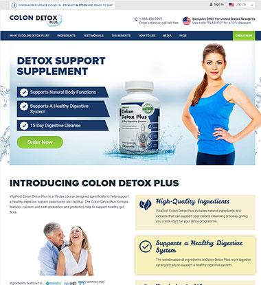 Colon Detox Plus Logo