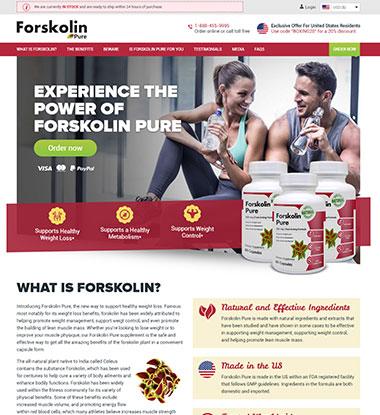 Forskolin Pure logo
