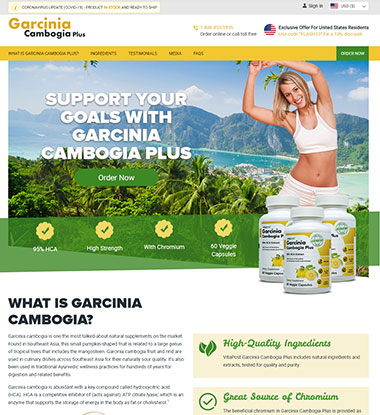 Garcinia Cambogia Plus logo
