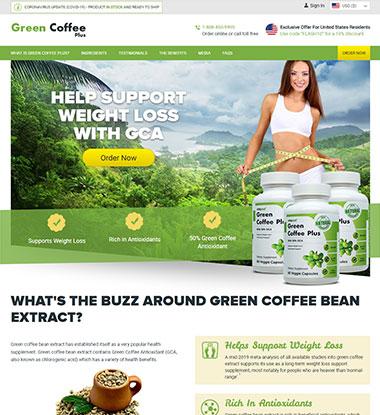 Green Coffee Plus logo
