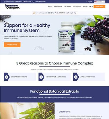 Immune Complex Logo
