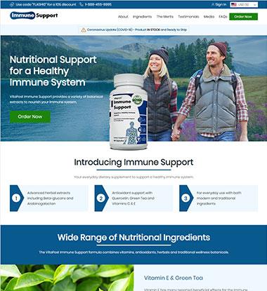 Immune Support Logo