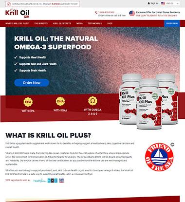 Krill Oil Plus Logo