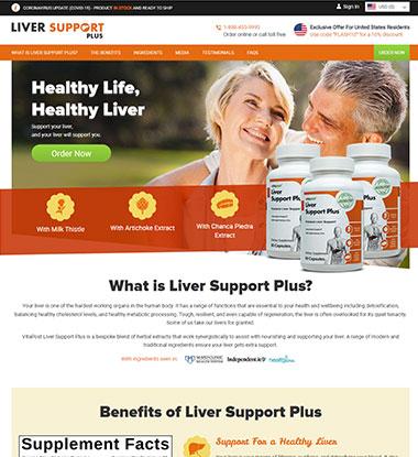 Liver Support Plus Logo