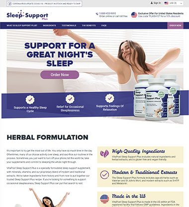 Sleep Support Plus logo