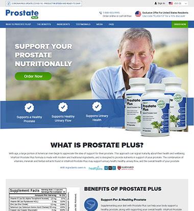 Prostate Plus Logo
