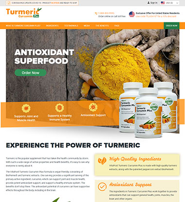 Turmeric Curcumin Plus Logo