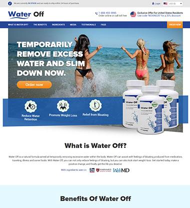 Water Off Logo