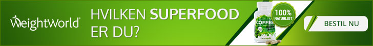 Fedforbrænder, grøn kaffe -> superfood
