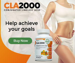 CLA 2000 – Free Bottle Offer - Ship 26 Countries
